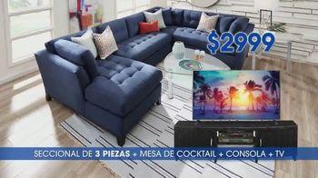 Rooms to Go TV Spot, 'Compra una sala' [Spanish] - Thumbnail 4