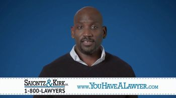 Saiontz & Kirk, P.A. TV Spot, 'When You Need a Lawyer'