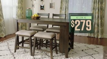 Ashley HomeStore Lowest Prices of the Season TV Spot, 'Beds and Dining Tables' - Thumbnail 5
