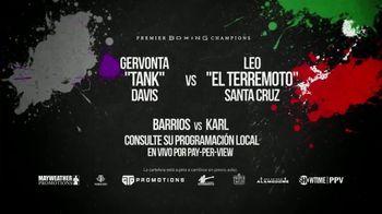 Premier Boxing Champions TV Spot, 'Davis vs. Santa Cruz' [Spanish]