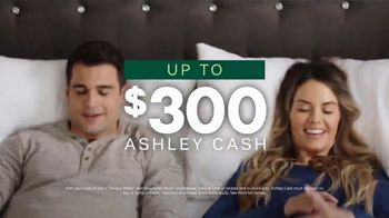 Ashley HomeStore Lowest Prices of the Season TV Spot, '0% Interest and $300 Ashley Cash' - Thumbnail 4