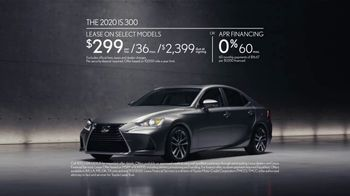 2020 Lexus IS TV Spot, 'Legacy in the Making' [T2] - Thumbnail 7