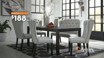 Ashley HomeStore Lowest Prices of the Season TV Spot, 'Beds, Dining Tables and Sofas' - Thumbnail 3
