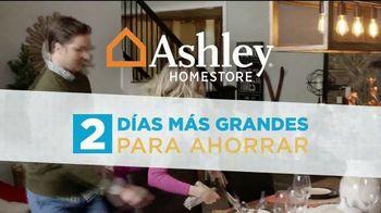 Ashley HomeStore TV Spot, 'Dos días más grandes para ahorrar: sin interes' [Spanish] - Thumbnail 1