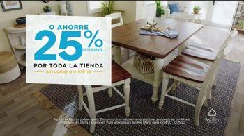 Ashley HomeStore TV Spot, 'Dos días más grandes para ahorrar: sin interes' [Spanish] - Thumbnail 4