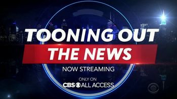 CBS All Access TV Spot, 'Tooning Out the News' - Thumbnail 9