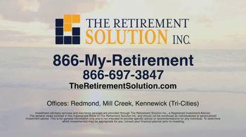 The Retirement Solution Inc. TV Spot, 'Removing Panic' - Thumbnail 8