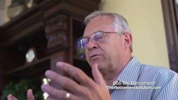 The Retirement Solution Inc. TV Spot, 'Removing Panic' - Thumbnail 4