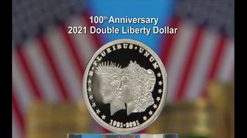 National Collector's Mint 2021 Double Liberty Dollar TV Spot, '100th Anniversary' - 5 commercial airings