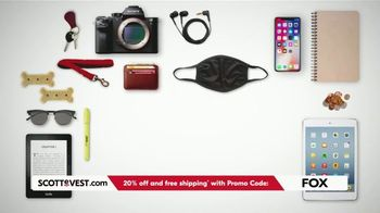 SCOTTeVEST TV Spot, 'Pockets: 20% Off and Free Shipping' - Thumbnail 2