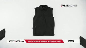 SCOTTeVEST TV Spot, 'Pockets: 20% Off and Free Shipping' - Thumbnail 3