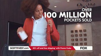 SCOTTeVEST TV Spot, 'Pockets: 20% Off and Free Shipping'
