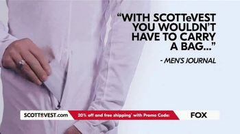 SCOTTeVEST TV Spot, 'Pockets: 20% Off and Free Shipping' - Thumbnail 7