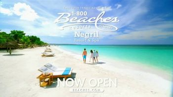 Beaches Negril Resort & Spa TV Spot, 'Experience the Wow Factor: Jamaica' - Thumbnail 9