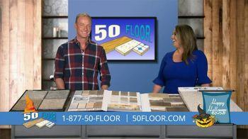 50 Floor October Special TV Spot, 'Halloween: Free Installation' - Thumbnail 8
