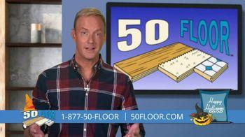 50 Floor October Special TV Spot, 'Halloween: Free Installation' - Thumbnail 2