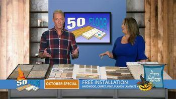 50 Floor October Special TV Spot, 'Halloween: Free Installation' - Thumbnail 4