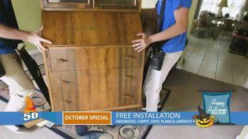 50 Floor October Special TV Spot, 'Halloween: Free Installation' - Thumbnail 5