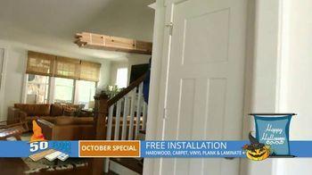 50 Floor October Special TV Spot, 'Halloween: Free Installation' - Thumbnail 6