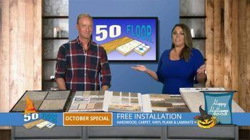 50 Floor October Special TV Spot, 'Halloween: Free Installation' - Thumbnail 7