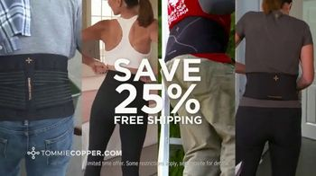 Tommie Copper TV Spot, 'Fight Pain: Save 25%' - Thumbnail 10