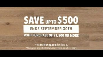 LL Flooring TV Spot, 'Bellawood Distressed Oak Floor: Special Financing and Save up to $500' - Thumbnail 6