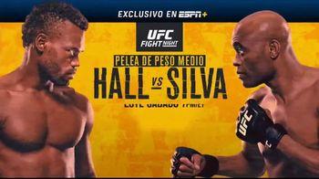 ESPN+ TV Spot, 'UFC Fight Night: Hall vs. Silva' [Spanish] - 55 commercial airings