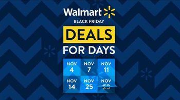 Walmart Black Friday TV Spot, 'Deals for Days: Black Friday Evento' canción de Aretha Franklin [Spanish] - Thumbnail 1