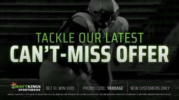 DraftKings Sportsbook TV Spot, 'Can't-Miss Offer: Penn State v. Ohio State' - Thumbnail 4