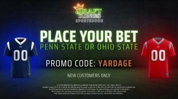 DraftKings Sportsbook TV Spot, 'Can't-Miss Offer: Penn State v. Ohio State' - Thumbnail 8