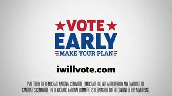 The Democratic National Committee TV Spot, 'Voting Early' - Thumbnail 8