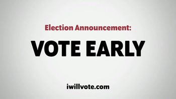 The Democratic National Committee TV Spot, 'Voting Early' - Thumbnail 3