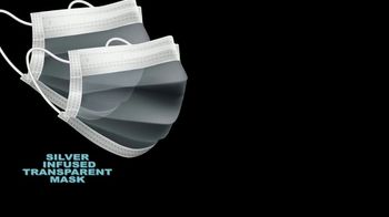 Silver Infused Transparent Face Mask TV Spot, 'A Breakthrough' - Thumbnail 2