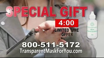 Silver Infused Transparent Face Mask TV Spot, 'A Breakthrough' - Thumbnail 3