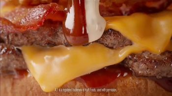 Dairy Queen Loaded A1 Steakhouse Burger TV Spot, 'One Burger That Needs Two Hands' - Thumbnail 4