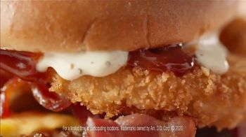 Dairy Queen Loaded A1 Steakhouse Burger TV Spot, 'One Burger That Needs Two Hands' - Thumbnail 5