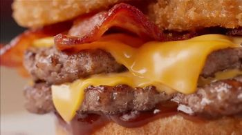 Dairy Queen Loaded A1 Steakhouse Burger TV Spot, 'One Burger That Needs Two Hands' - Thumbnail 6
