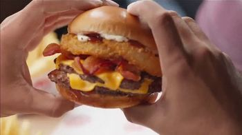 Dairy Queen Loaded A1 Steakhouse Burger TV Spot, 'One Burger That Needs Two Hands' - Thumbnail 7