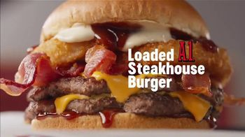 Dairy Queen Loaded A1 Steakhouse Burger TV Spot, 'One Burger That Needs Two Hands'