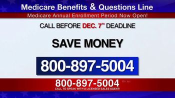 Medicare Benefits & Questions Line TV Spot, 'Attention Seniors: Presidential Election' - Thumbnail 9