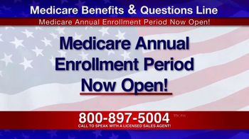 Medicare Benefits & Questions Line TV Spot, \'Attention Seniors: Presidential Election\'