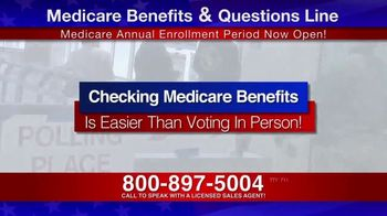 Medicare Benefits & Questions Line TV Spot, 'Attention Seniors: Presidential Election' - Thumbnail 4