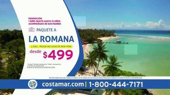 Costamar Travel ¡Ofertas de Locura! TV Spot, 'Riviera Maya, Playa del Carmen y La Romana' [Spanish]