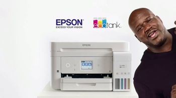 Epson EcoTank TV Spot, 'Print All the Color You Want' Featuring Shaquille O'Neal - Thumbnail 9