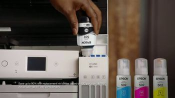 Epson EcoTank TV Spot, 'Print All the Color You Want' Featuring Shaquille O'Neal - Thumbnail 5