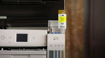 Epson EcoTank TV Spot, 'Print All the Color You Want' Featuring Shaquille O'Neal - Thumbnail 6