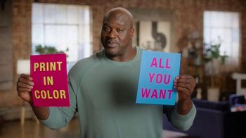 Epson EcoTank TV Spot, 'Print All the Color You Want' Featuring Shaquille O'Neal - Thumbnail 7