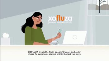 Xofluza TV Spot, 'The Flu Can Hit You Hard' - Thumbnail 1