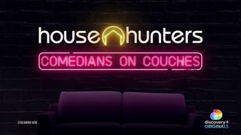 Discovery+ TV Spot, 'House Hunters: Comedians on Couches' - Thumbnail 2