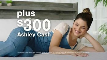 Ashley HomeStore Mattress Marathon TV Spot, \'Ashley Cash\'